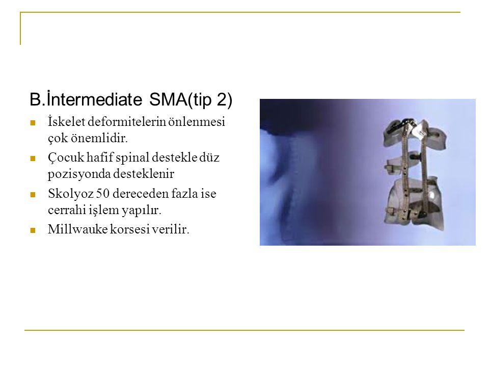 B.İntermediate SMA(tip 2)