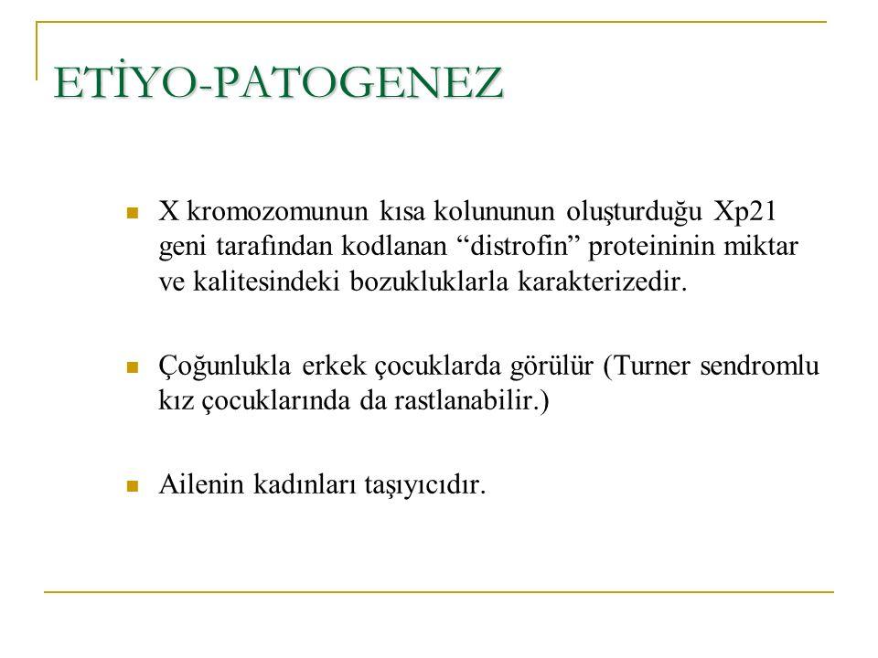 ETİYO-PATOGENEZ