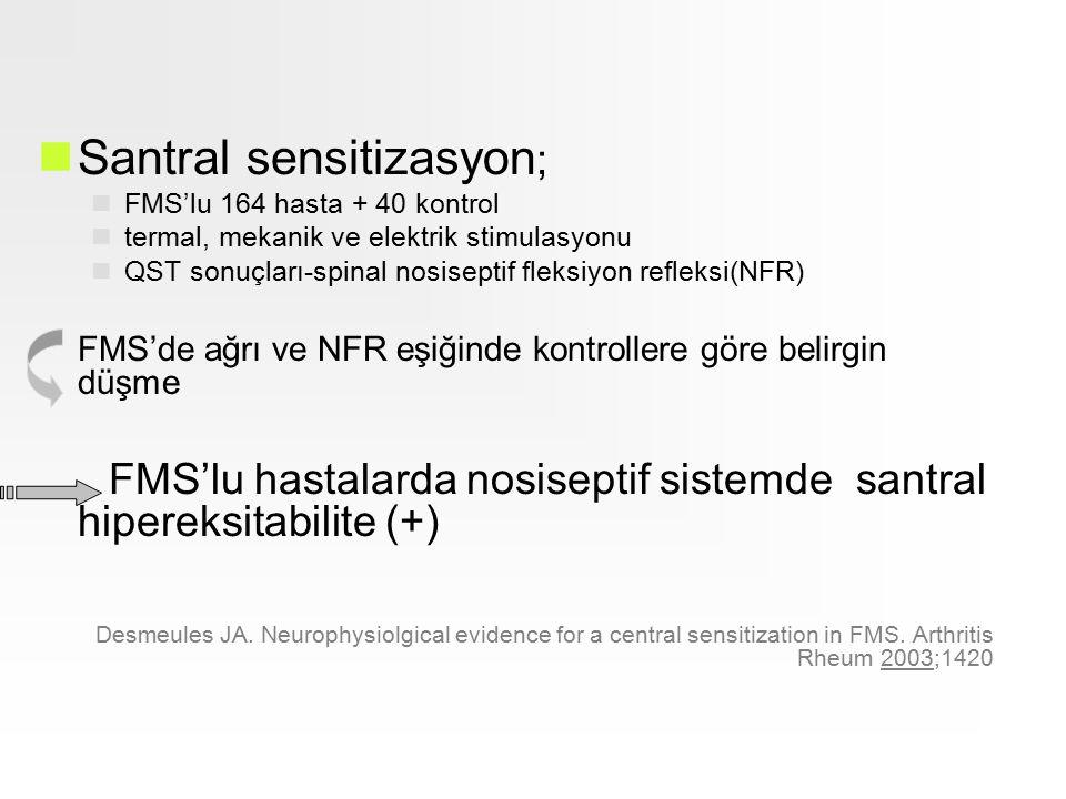 Santral sensitizasyon;