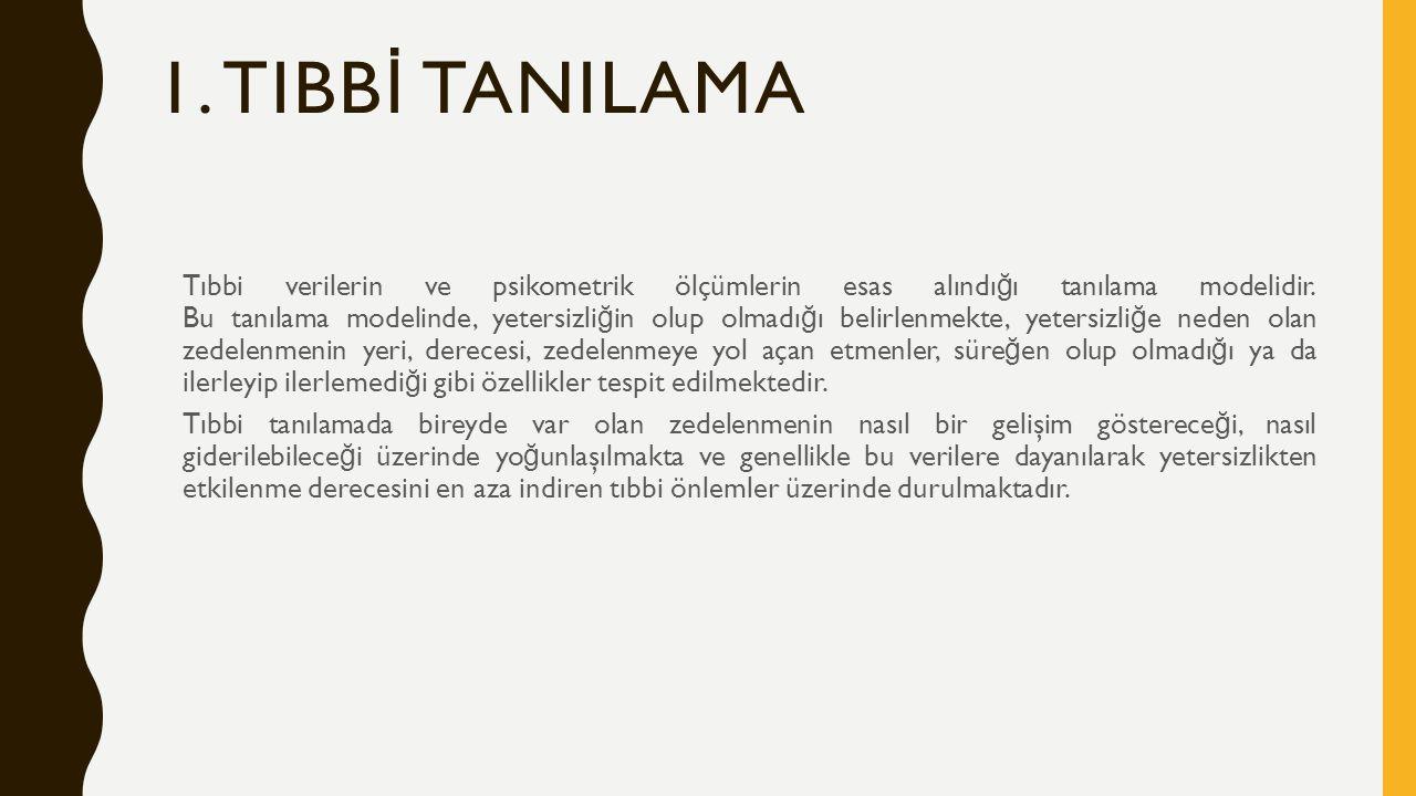1. TIBBİ TANILAMA