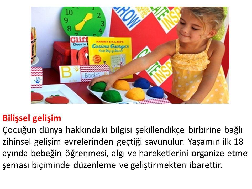Bilişsel gelişim Çocuğun dünya hakkındaki bilgisi şekillendikçe birbirine bağlı zihinsel gelişim evrelerinden geçtiği savunulur.
