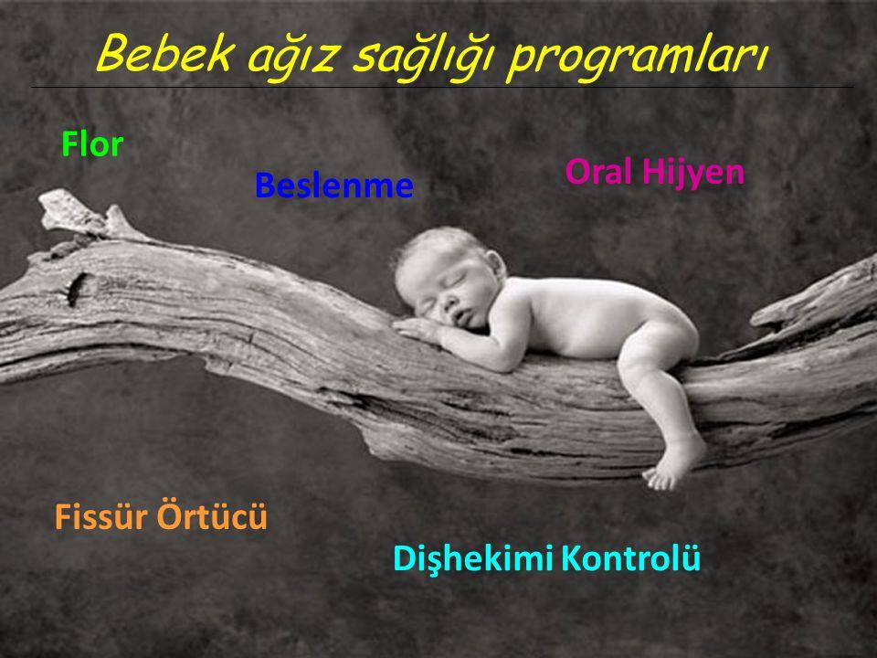 Bebek ağız sağlığı programları