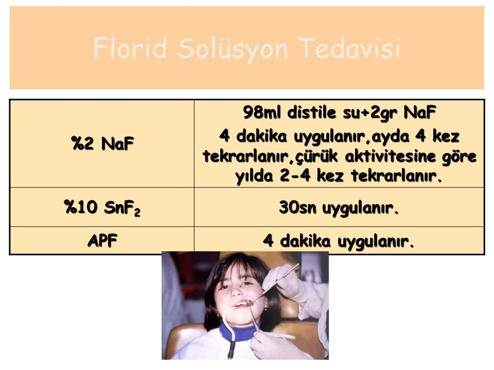 Florid Solüsyon Tedavisi