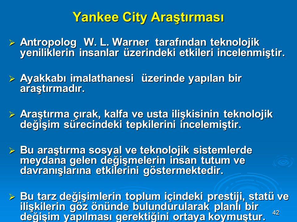 Yankee City Araştırması