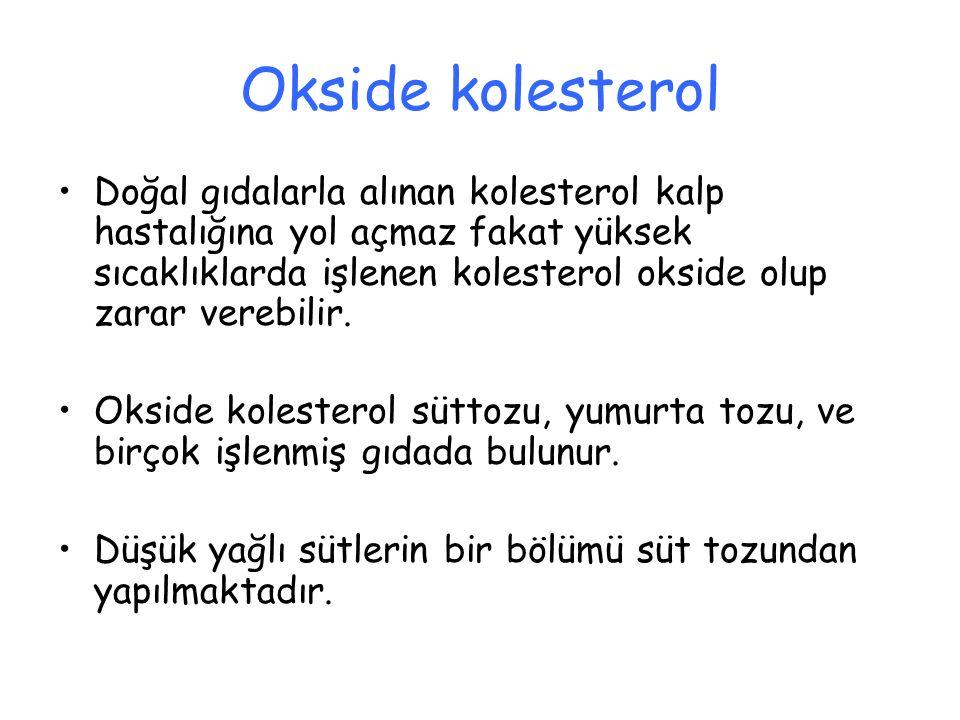 Okside kolesterol