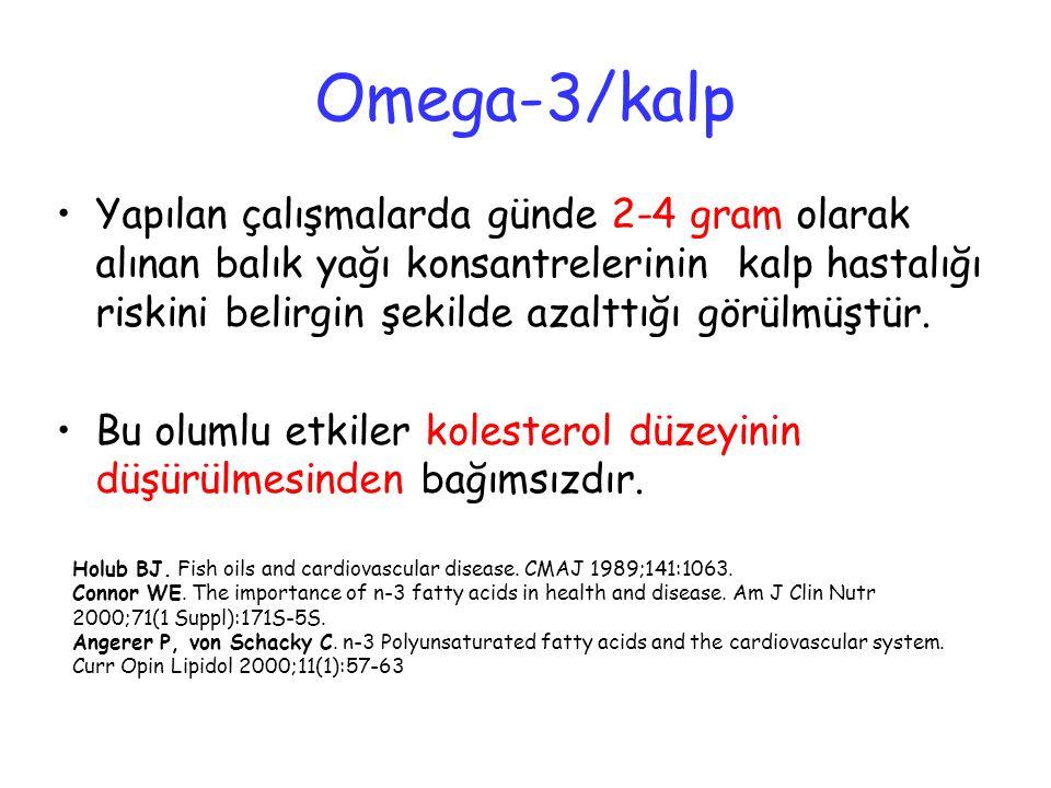 Omega-3/kalp