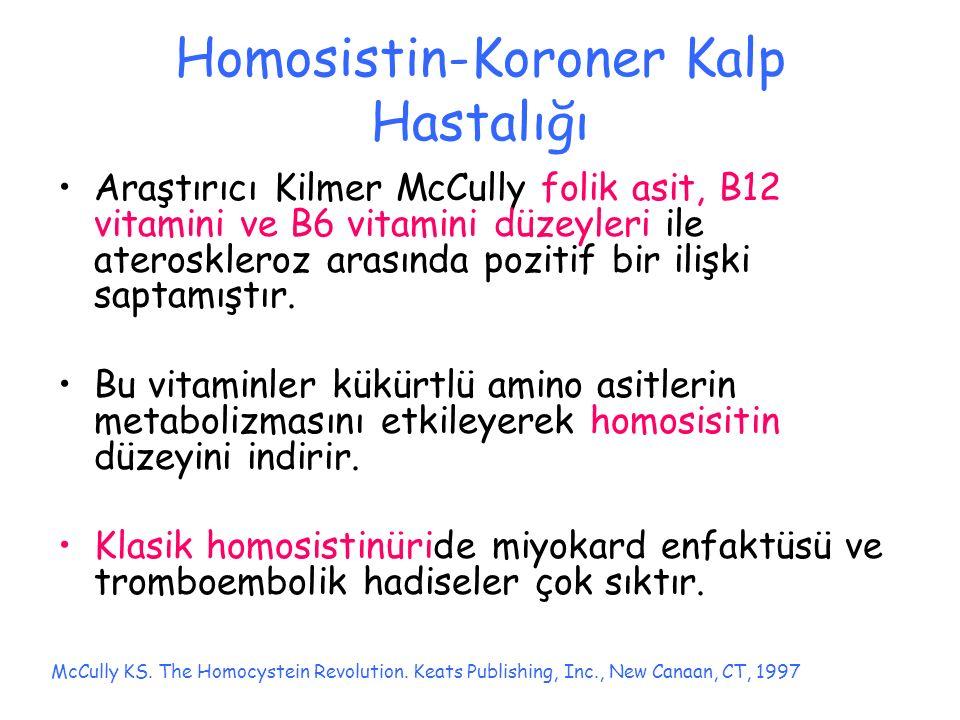 Homosistin-Koroner Kalp Hastalığı