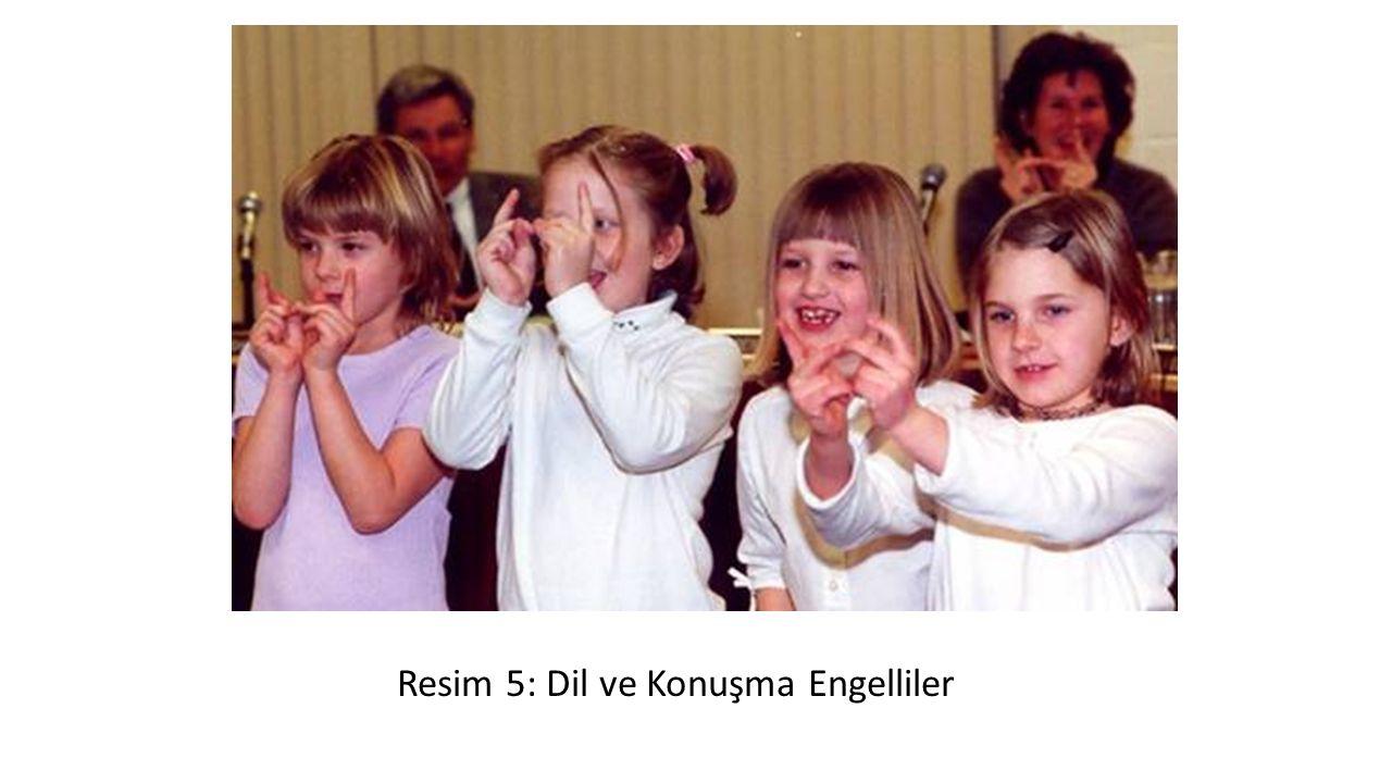 Resim 5: Dil ve Konuşma Engelliler