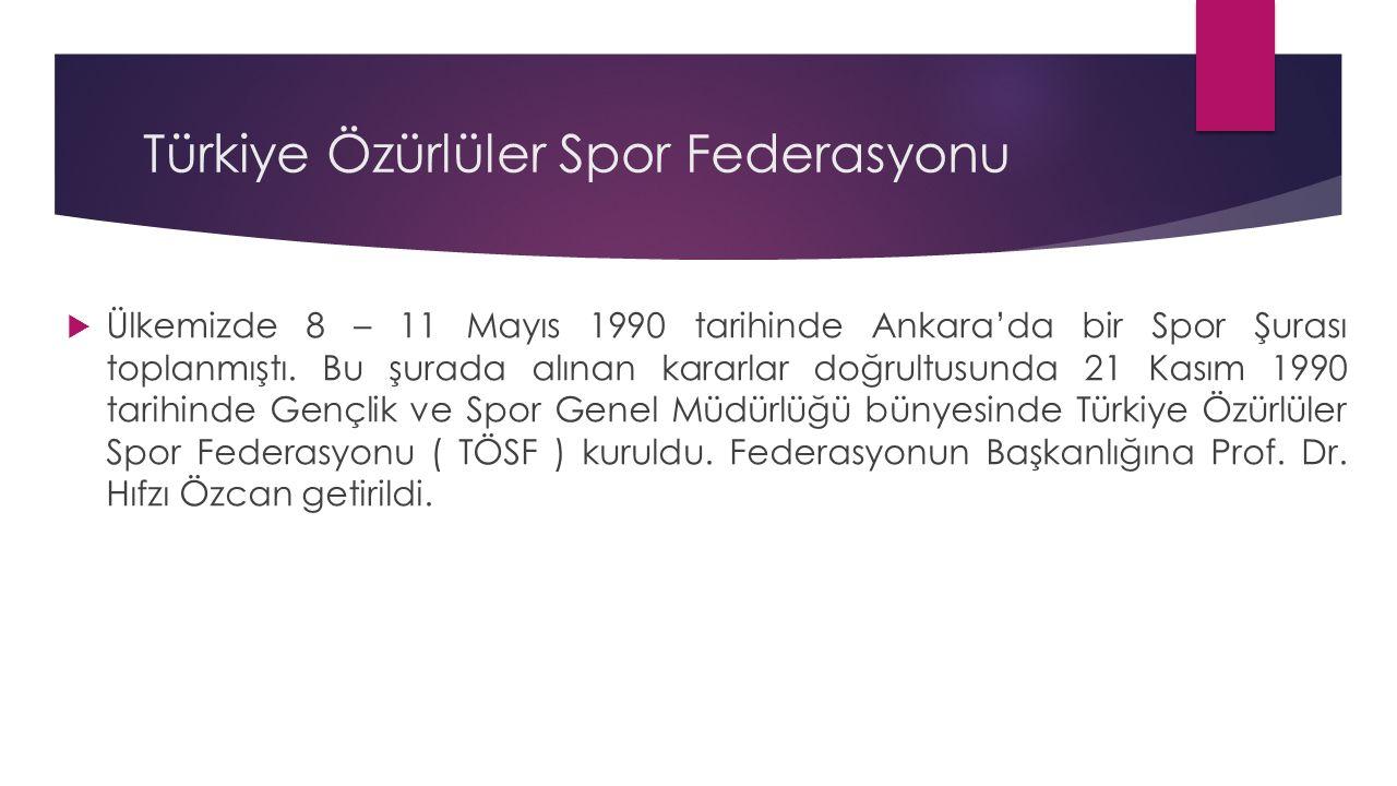 Türkiye Özürlüler Spor Federasyonu
