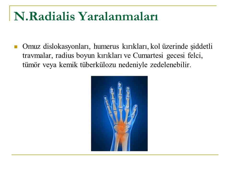 N.Radialis Yaralanmaları