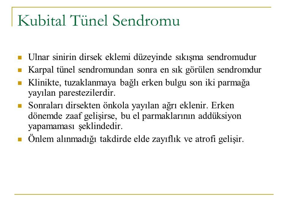 Kubital Tünel Sendromu