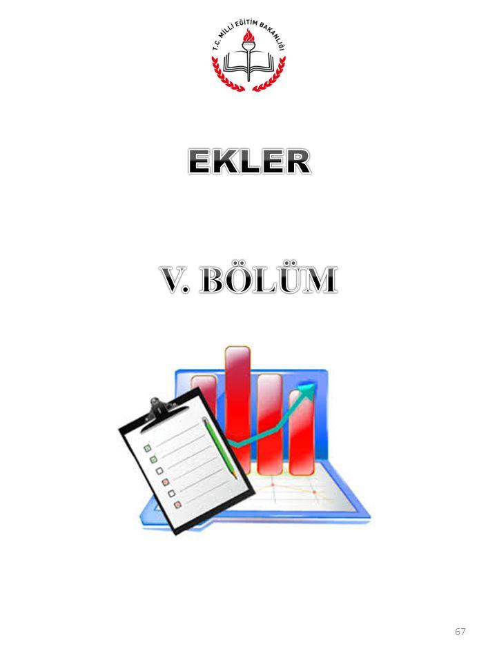 EKLER V. BÖLÜM
