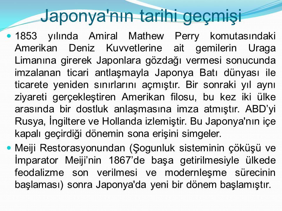 Japonya nın tarihi geçmişi