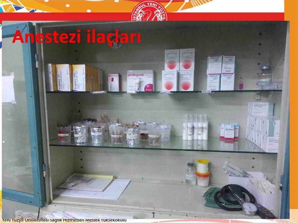 Anestezi ilaçları