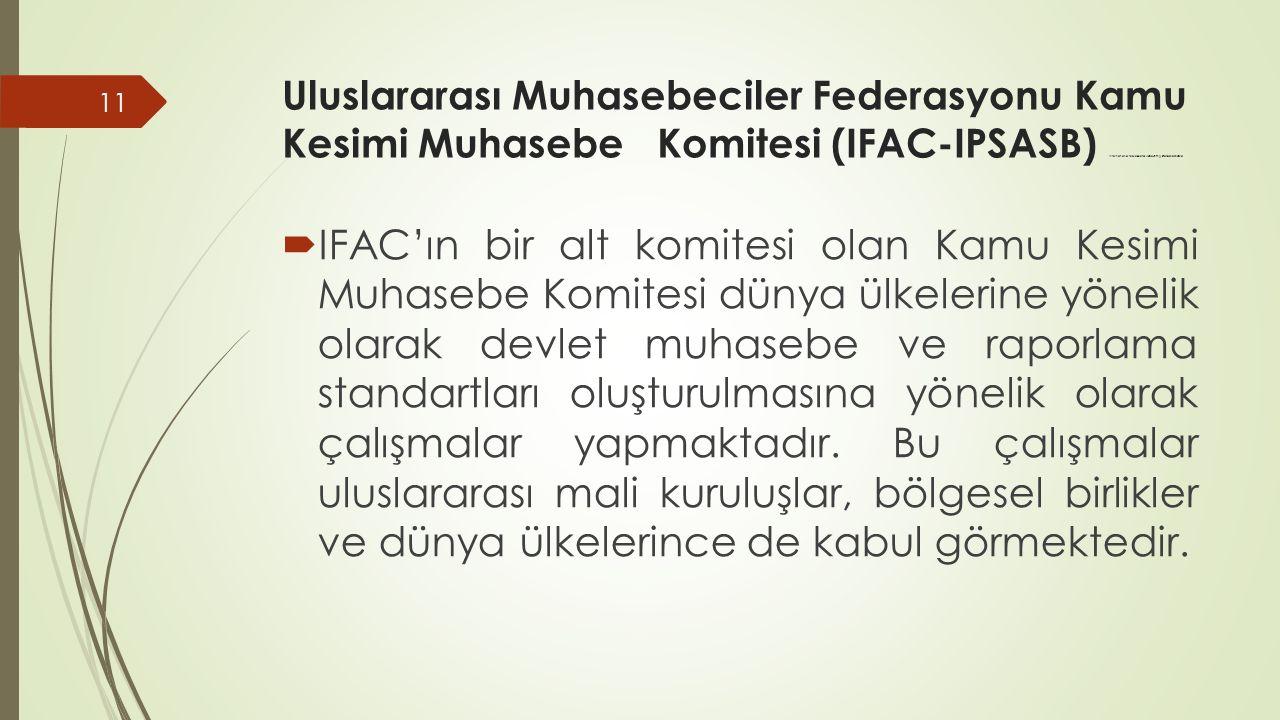 Uluslararası Muhasebeciler Federasyonu Kamu Kesimi Muhasebe Komitesi (IFAC-IPSASB) International Public Sector Accounting Standards Board