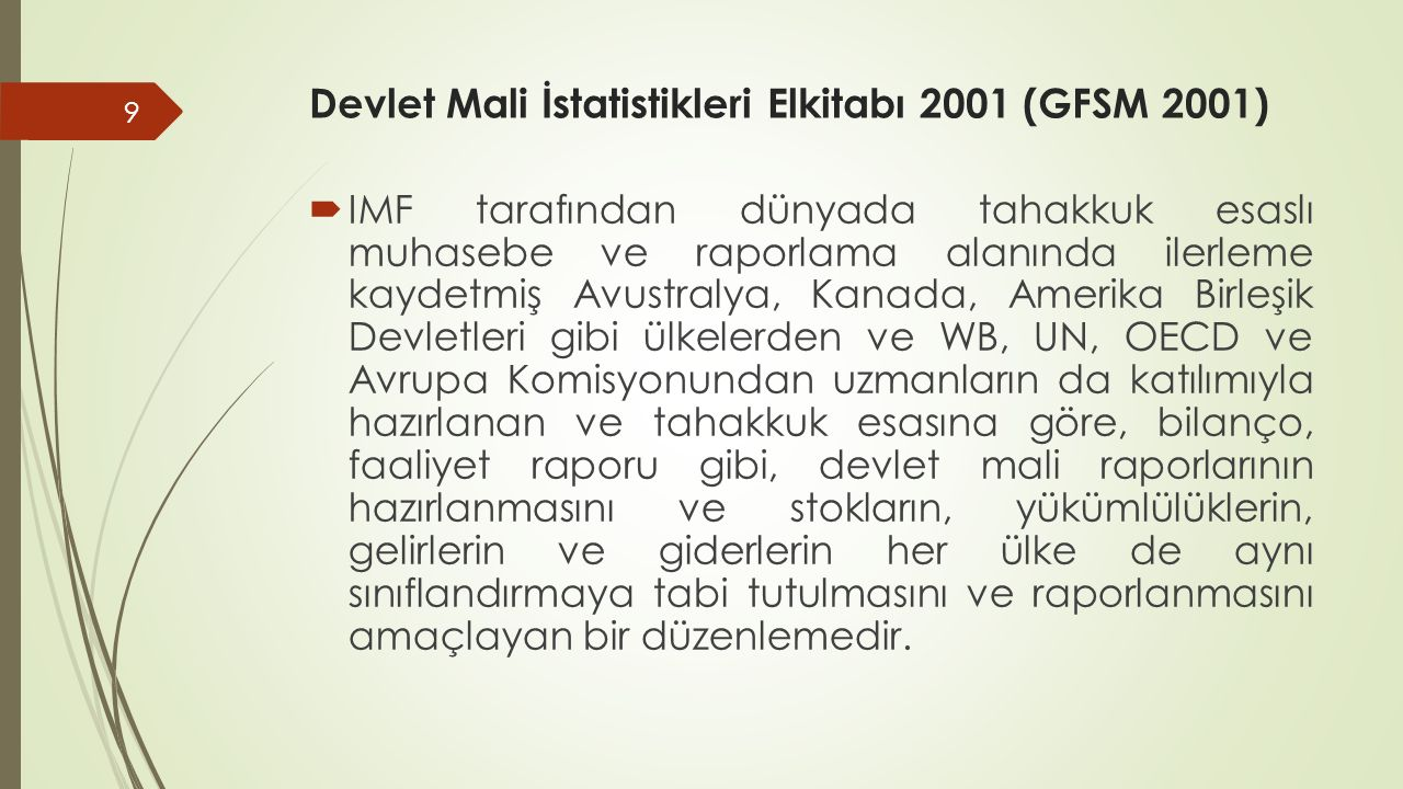 Devlet Mali İstatistikleri Elkitabı 2001 (GFSM 2001)
