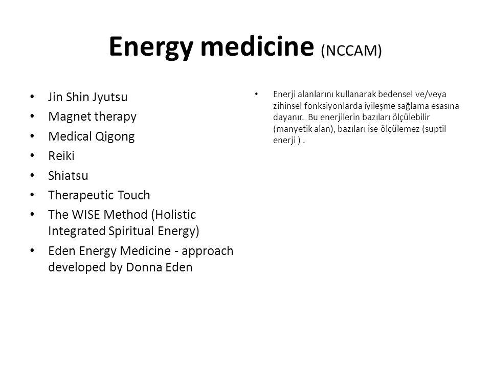 Energy medicine (NCCAM)