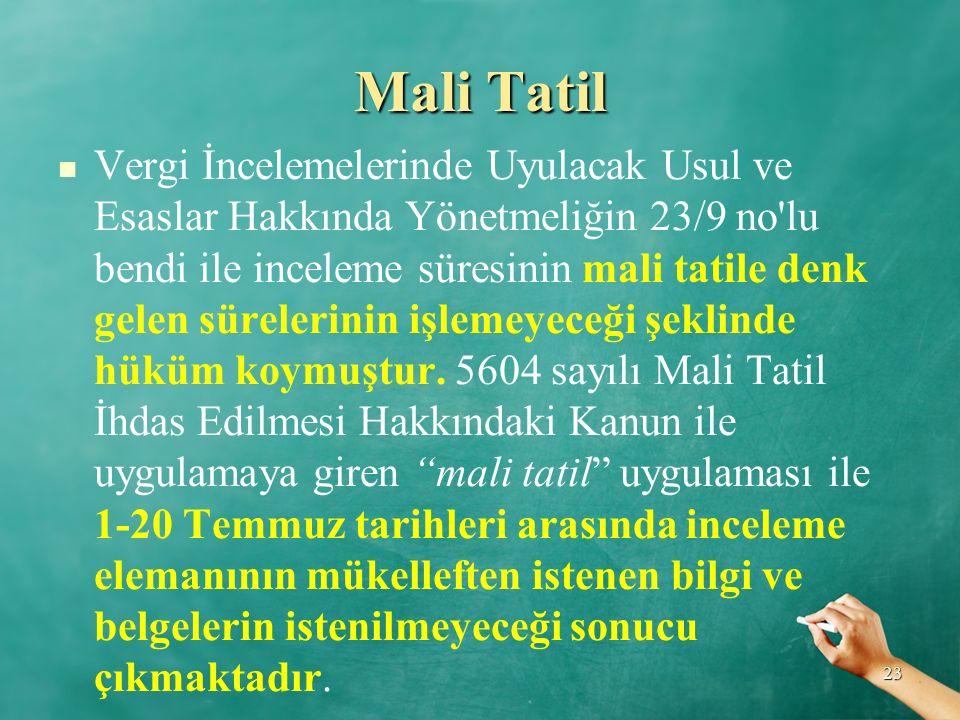 Mali Tatil