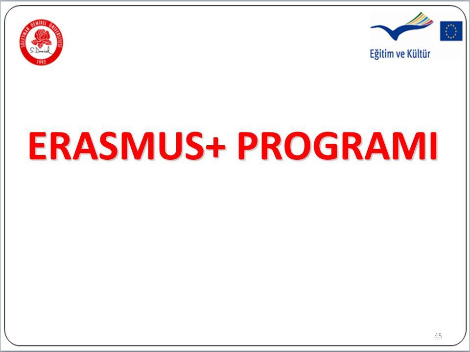 ERASMUS+ PROGRAMI