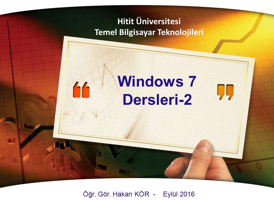 Temel Bilgisayar Teknolojileri