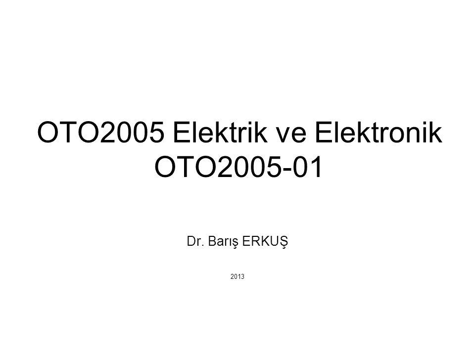 OTO2005 Elektrik ve Elektronik OTO2005-01