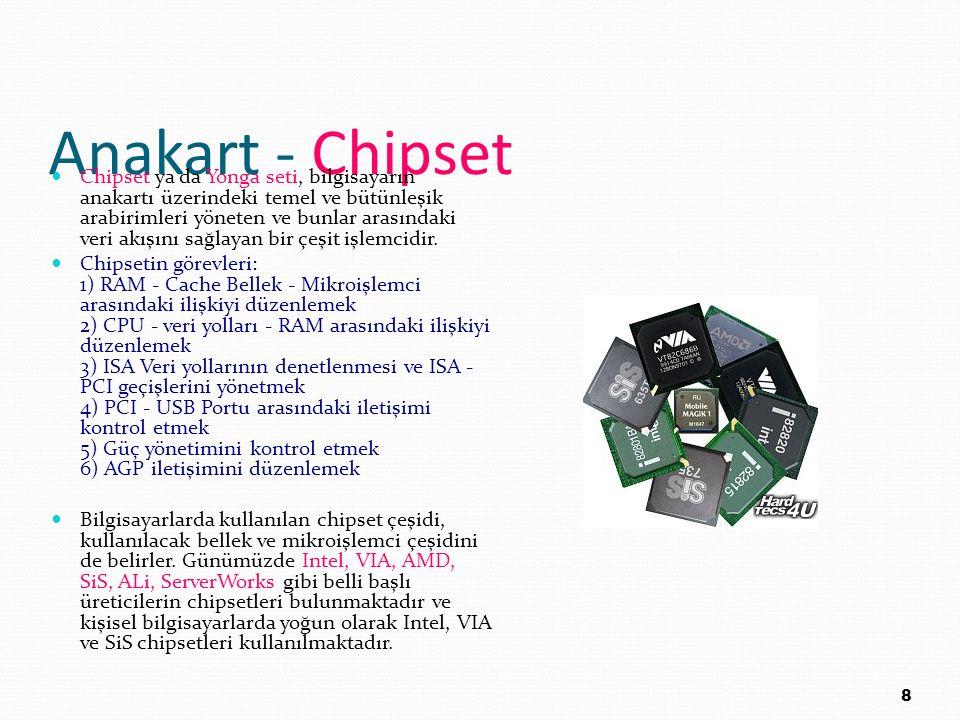 Anakart - Chipset