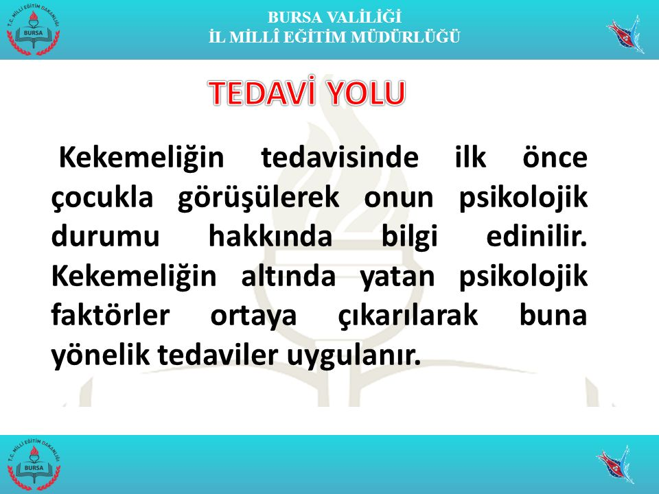 TEDAVİ YOLU