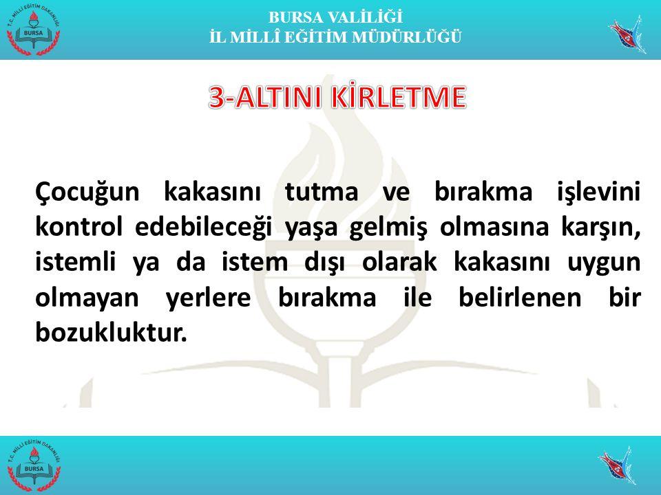 3-ALTINI KİRLETME