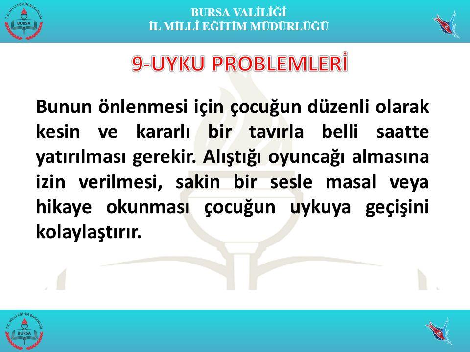 9-UYKU PROBLEMLERİ