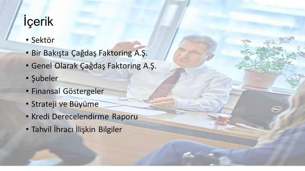 İçerik Sektör Bir Bakışta Çağdaş Faktoring A.Ş.