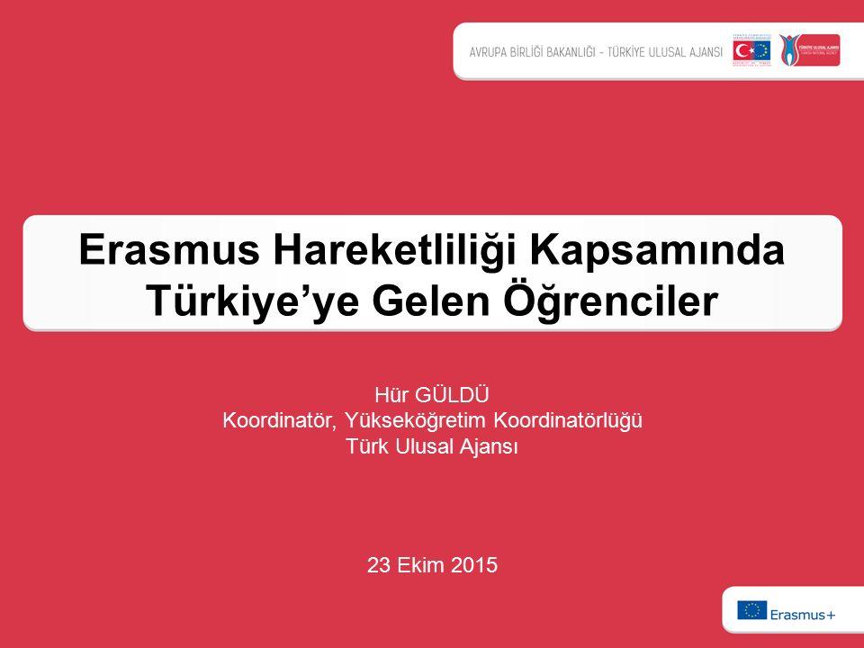 Erasmus Hareketliliği Kapsamında Türkiye'ye Gelen Öğrenciler