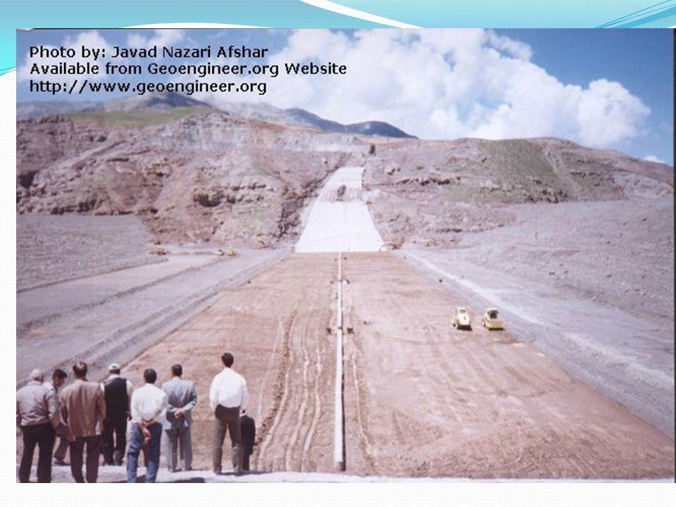 Baraj dolgu inşaatı