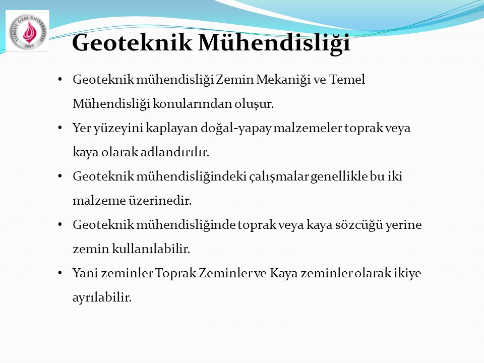 Geoteknik Mühendisliği