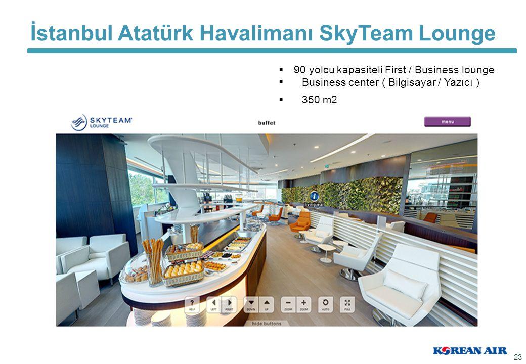 İstanbul Atatürk Havalimanı SkyTeam Lounge