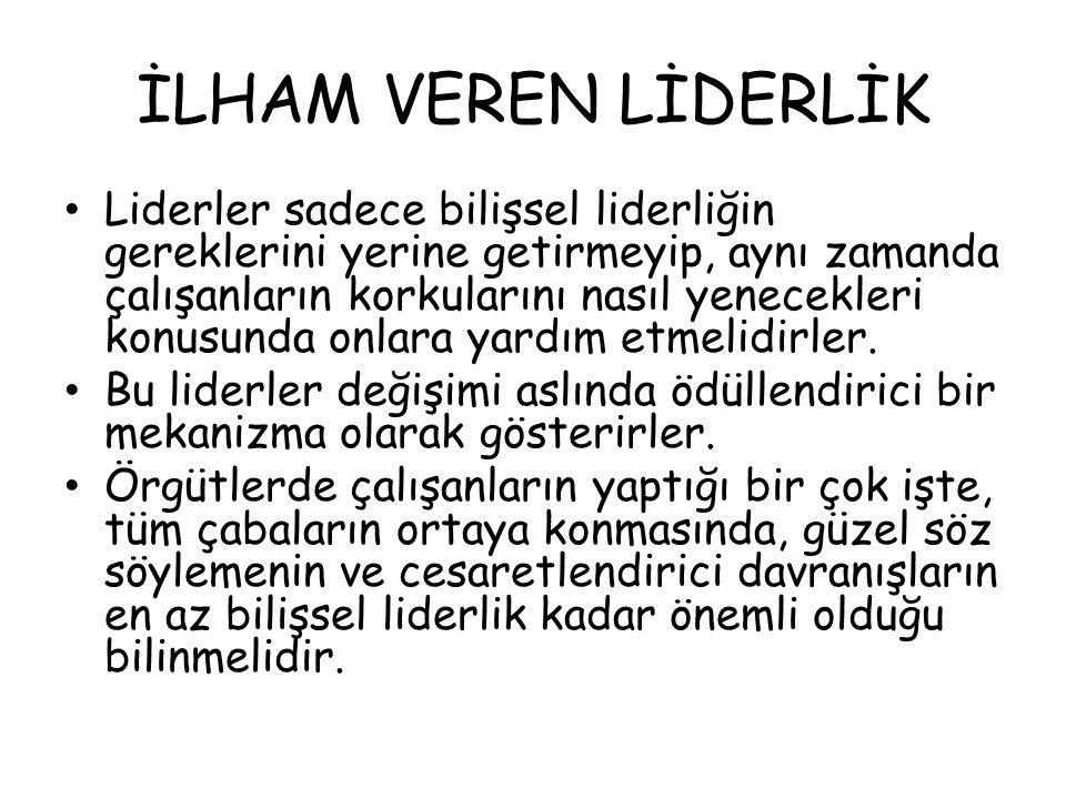 İLHAM VEREN LİDERLİK