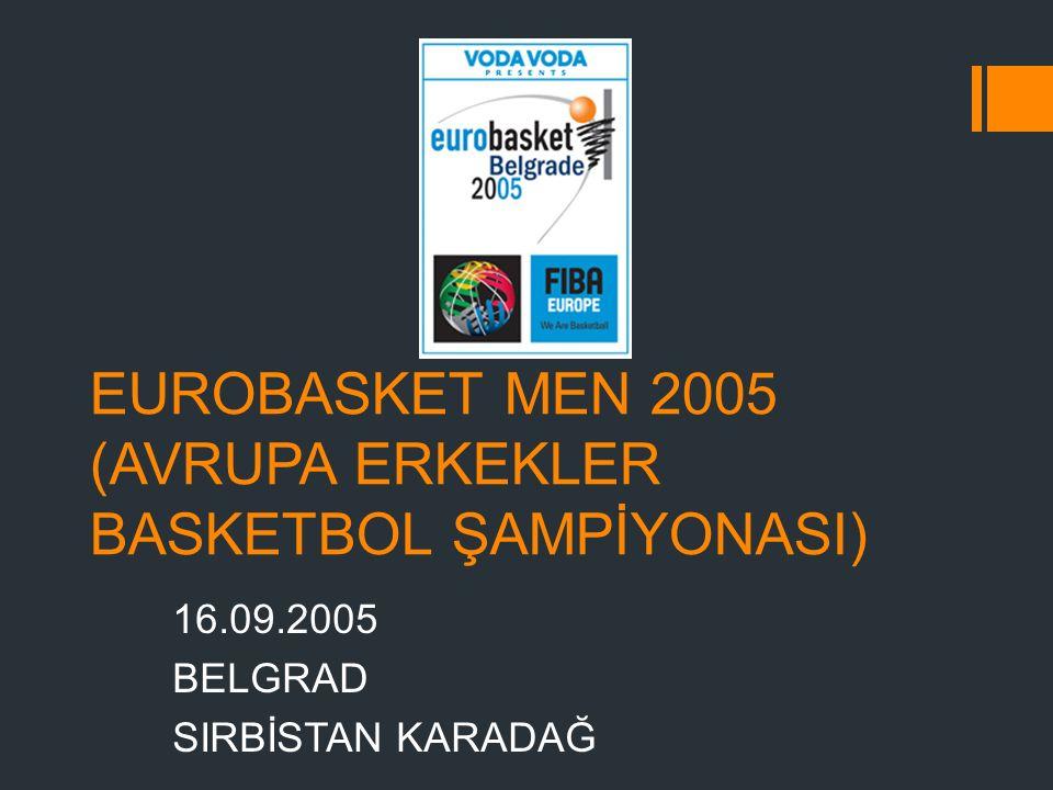 EUROBASKET MEN 2005 (AVRUPA ERKEKLER BASKETBOL ŞAMPİYONASI)