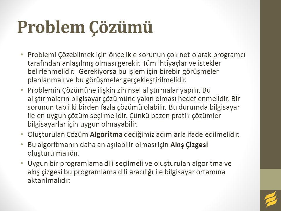 Problem Çözümü