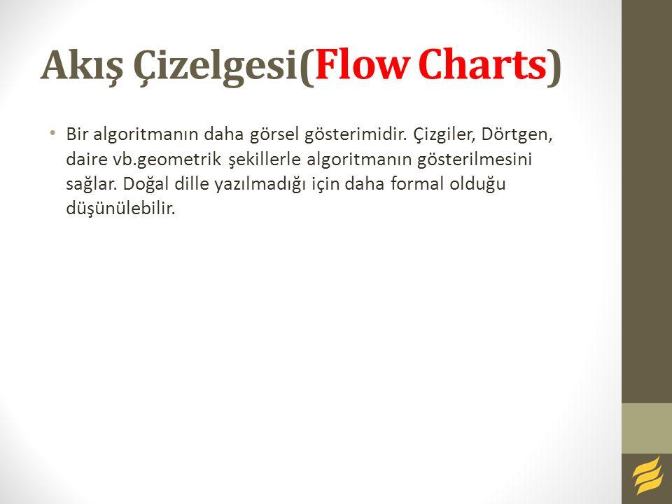 Akış Çizelgesi(Flow Charts)
