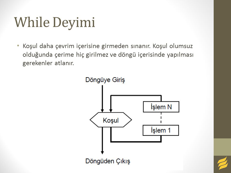 While Deyimi