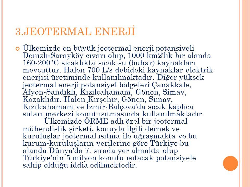 3.JEOTERMAL ENERJİ