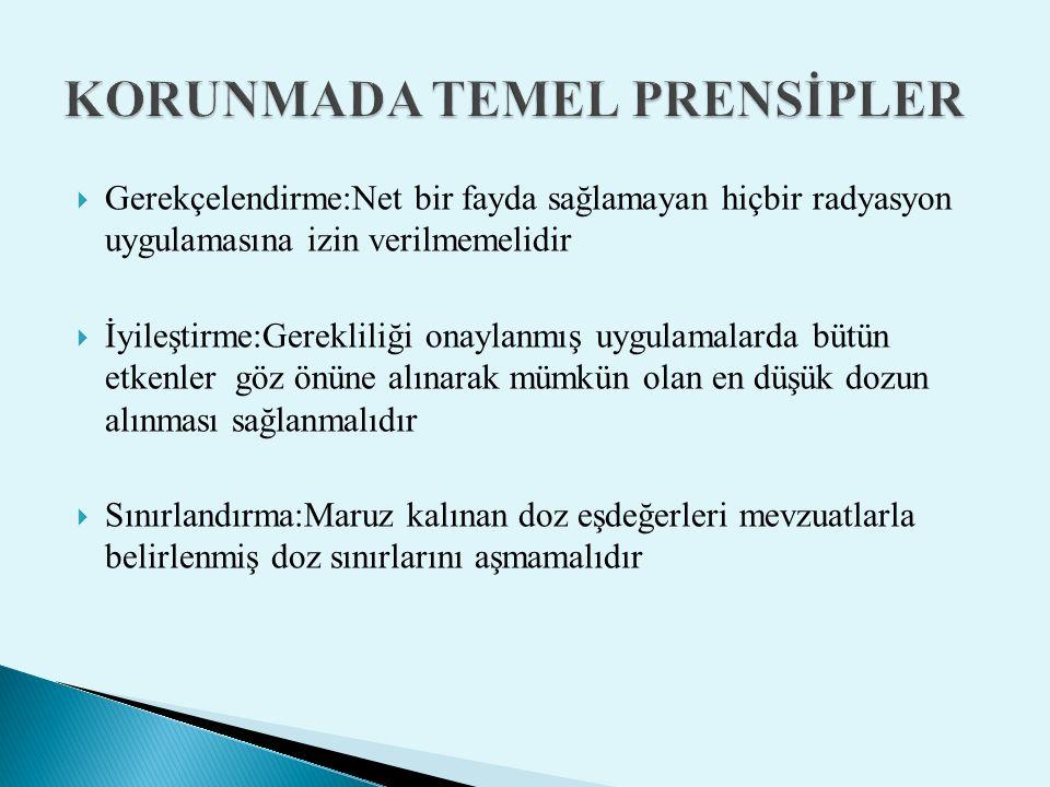 KORUNMADA TEMEL PRENSİPLER