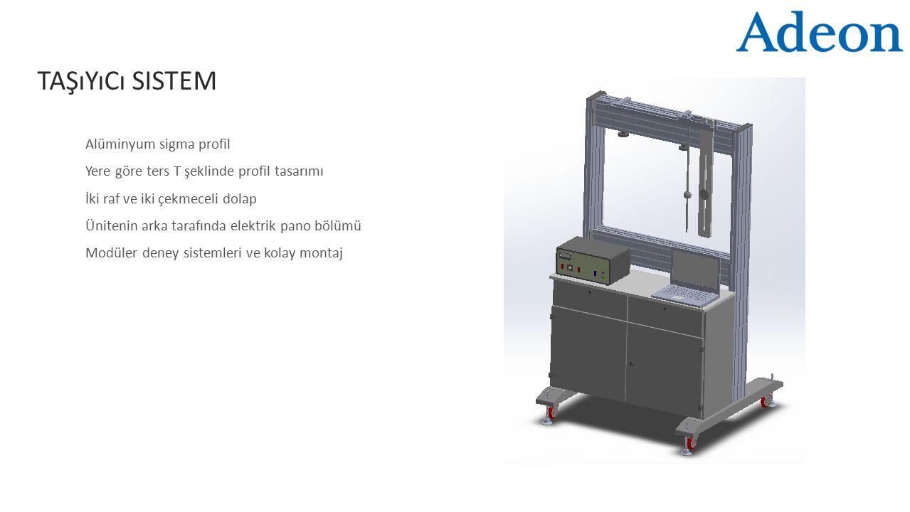 Taşıyıcı Sistem Alüminyum sigma profil