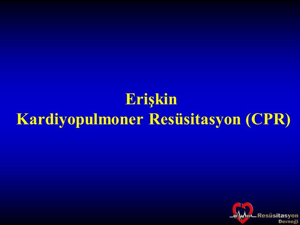 Kardiyopulmoner Resüsitasyon (CPR)