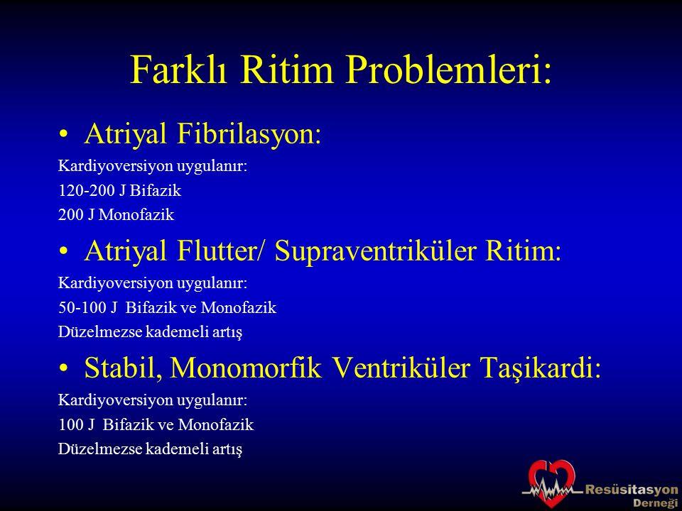 Farklı Ritim Problemleri: