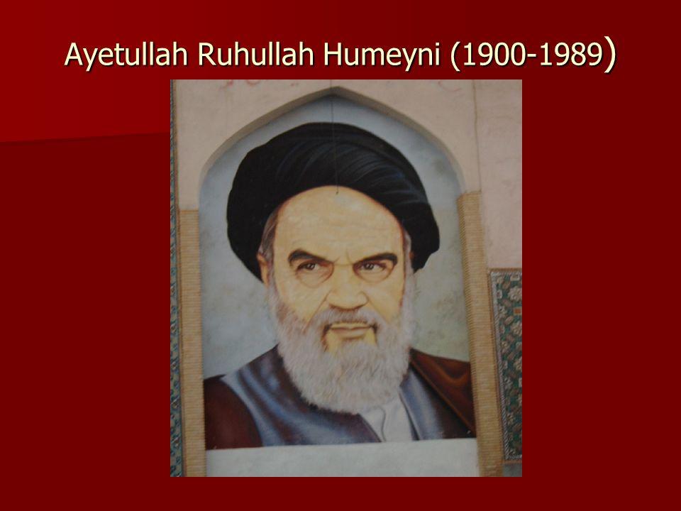 Ayetullah Ruhullah Humeyni (1900-1989)