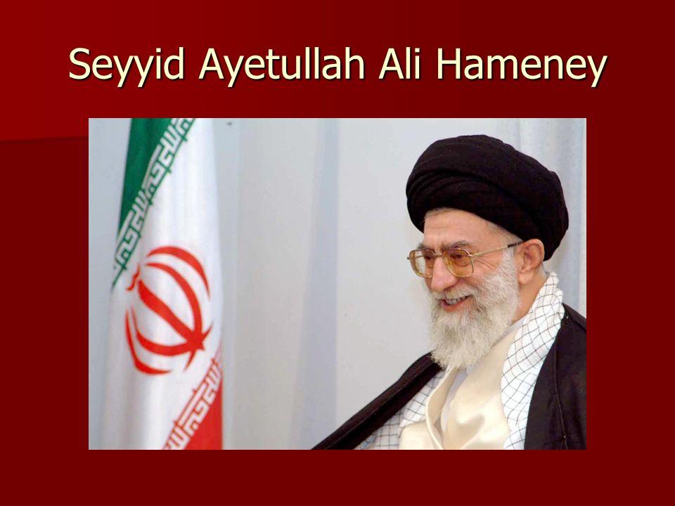 Seyyid Ayetullah Ali Hameney