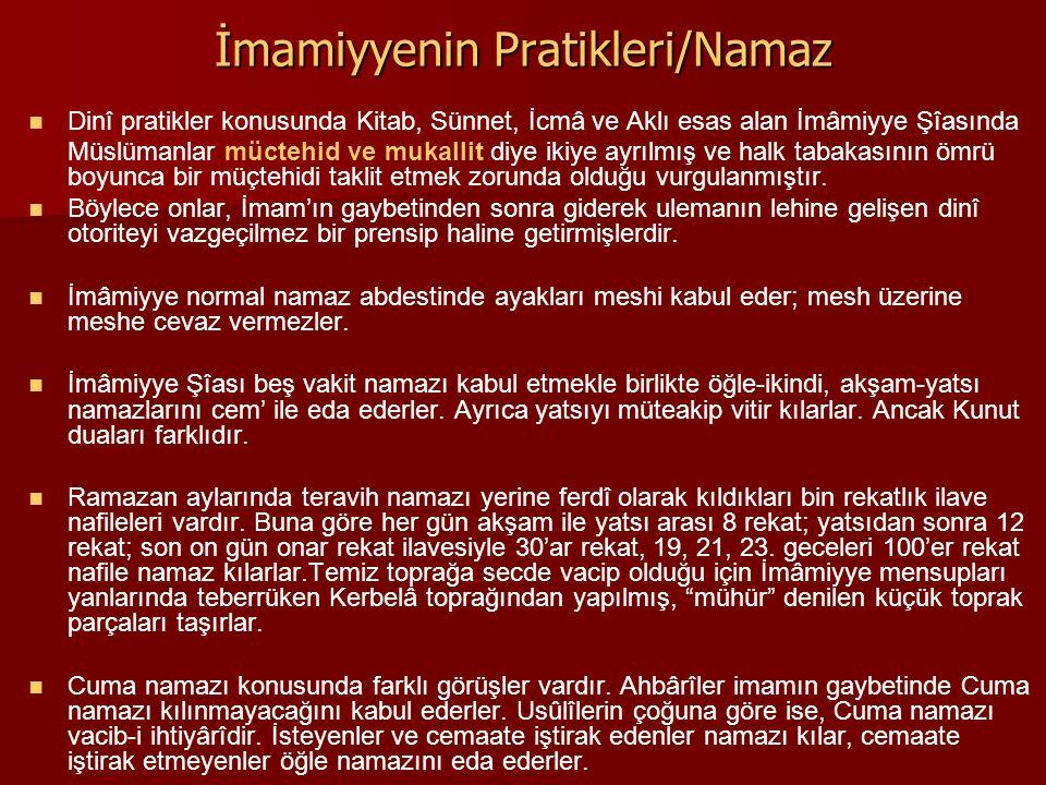 İmamiyyenin Pratikleri/Namaz