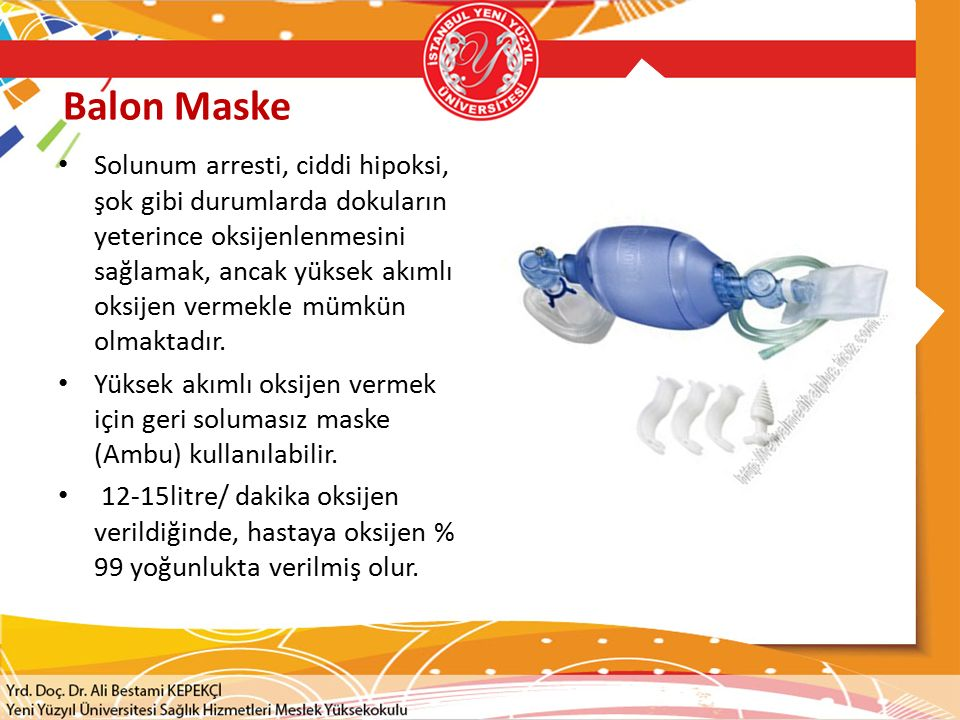 Balon Maske