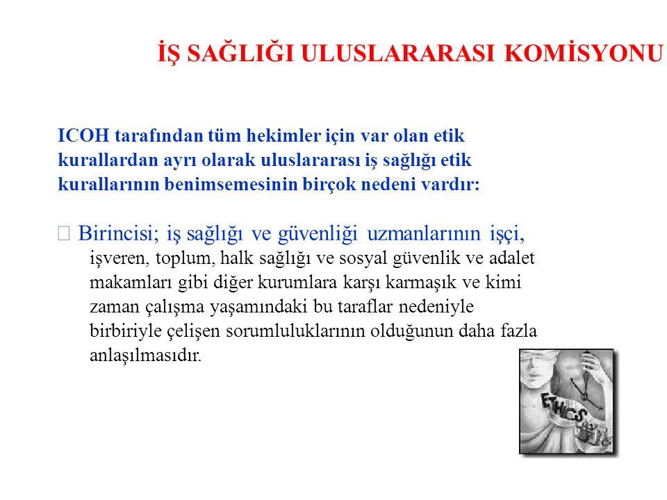 İŞ SAĞLIĞI ULUSLARARASI KOMİSYONU