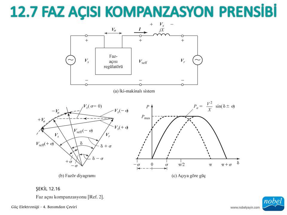 12.7 Faz AÇISI Kompanzasyon PRENSİBİ